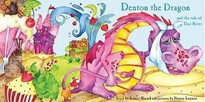 Denton the Dragon and the tale of Tear river
